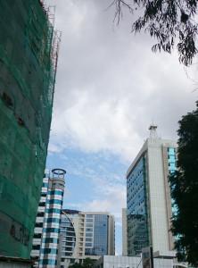 Wolkenkratzer im Stadtzentrum