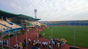 Stadion kurz vor dem Start