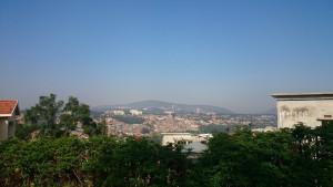 Blick auf die Innenstadt von Gacuriro