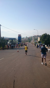 Bergab nach Nyarutarama
