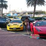 Dubai Sheikh Zayed Rd Mietwagen