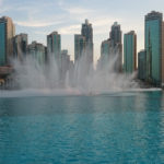 Dubai Fountain Burj Khalifa Lake