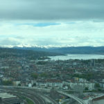 Die Aussicht vom Prime Tower Zürich